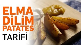 Elma Dilim Patates Kızartması Tarifi | Elma Dilim Patates Nasıl Yapılır?