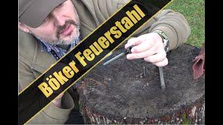 Böker Feuerstahl im Test | Survival Messer