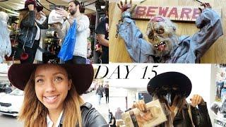Vlogtober day 15 | Halloween Costume Shopping!