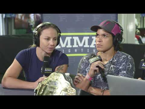 Amanda Nunes, Nina Ansaroff Open Up about Nunes' UFC 213 Withdrawal