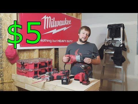 Инструменты электрика в Америке. Milwaukee