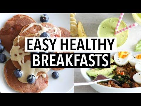 EASY HEALTHY BREAKFAST IDEAS   Simple Recipes!