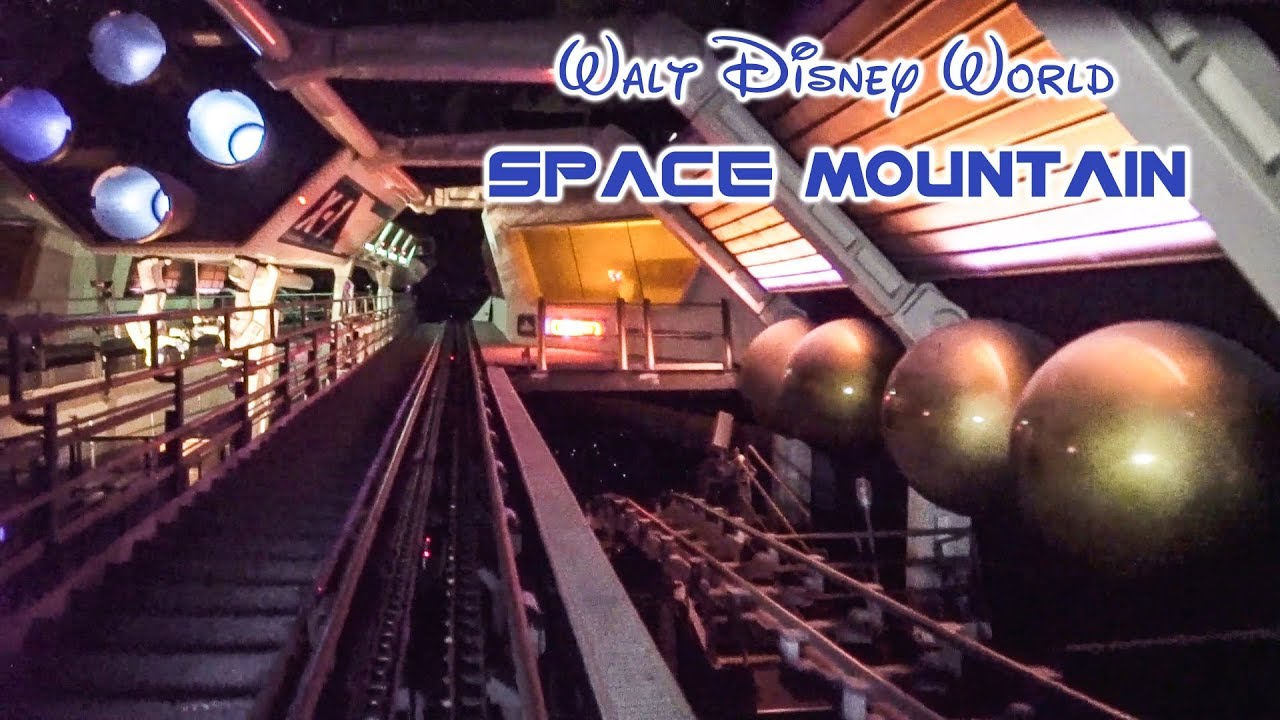 Construction on space mountain at disneyland park began soon after. 2019 Walt Disney World Space Mountain On Ride Front Seat Low Light Hd Pov With Full Queue And Exit Youtube