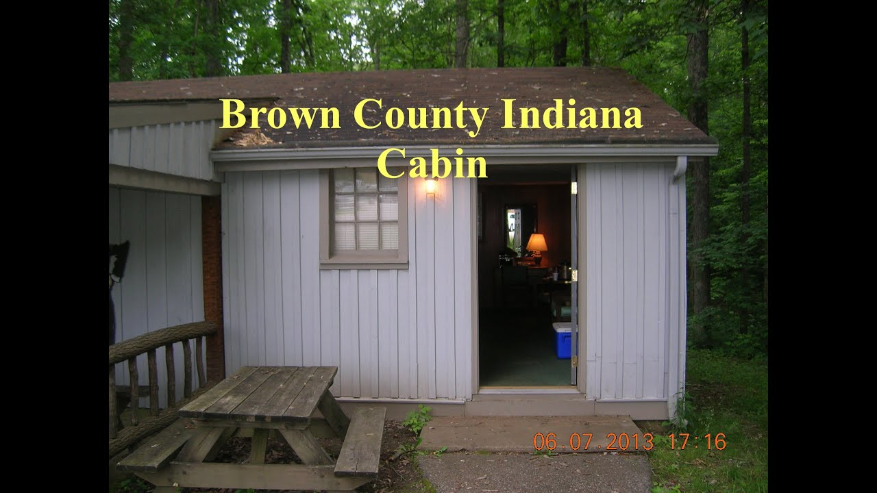 Brown county indiana cabin tour youtube for Ponte coperto cabina brown county
