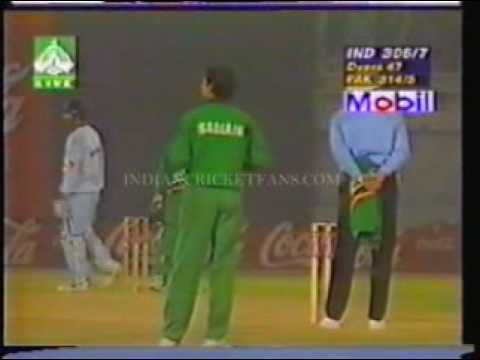 THE FINAL - IND V.S PAK - INDEPENDENCE CUP - 98 -8/9