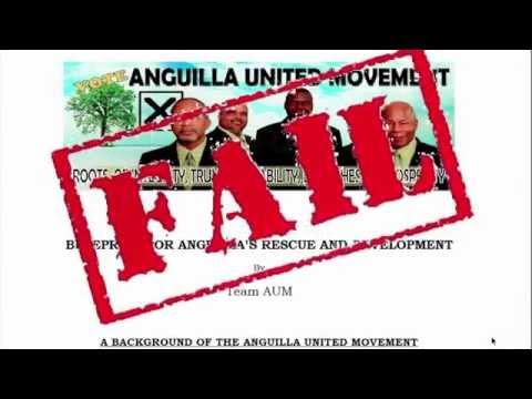 AUM FAIL (ANGUILLA GOVERNMENT 2010-2015)
