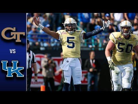 Georgia Tech vs. Kentucky TaxSlayer Bowl Highlights (2016)