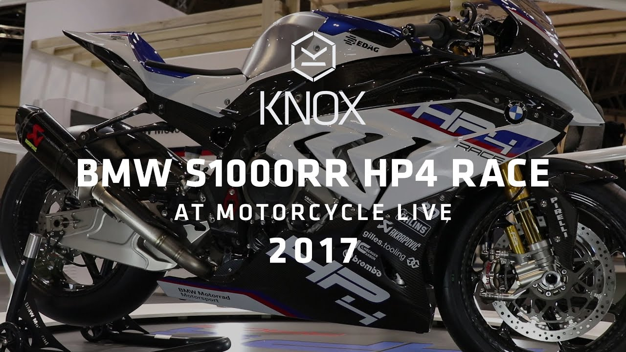 bmw s1000rr hp4 race review at motorcycle live 2017 youtube. Black Bedroom Furniture Sets. Home Design Ideas
