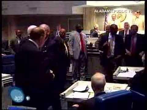 Fight in the Alabama State Senate