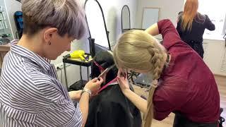 Княжна Дарья. Обучение стрижкам Отзывы. Курс Архитектура волос. STEP 2