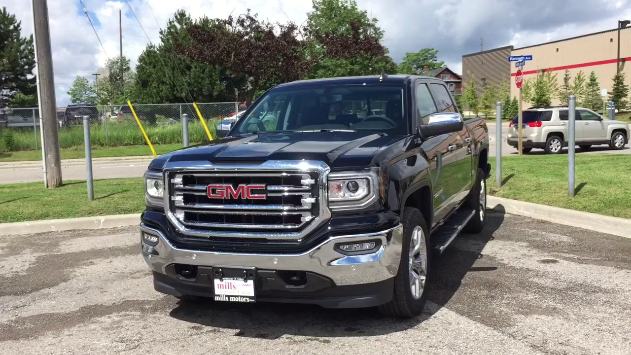 2017 gmc sierra 1500 slt 4wd crew cab z71 suspension bose. Black Bedroom Furniture Sets. Home Design Ideas