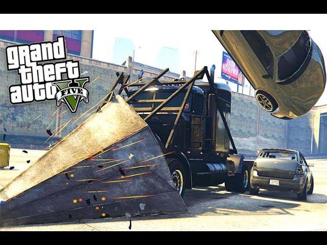 قراند 5 : سرقة اخطر شاحنة مدرعة فى العالم !! |#11