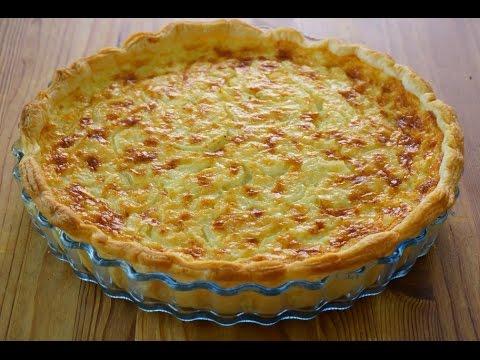 Resultado de imagen para Tarta de cebolla con crema de queso