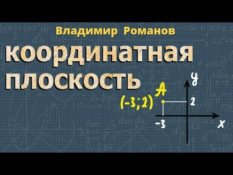 ☘ Координатная плоскость ➽ Математика 6 класс ➽ видеоурок
