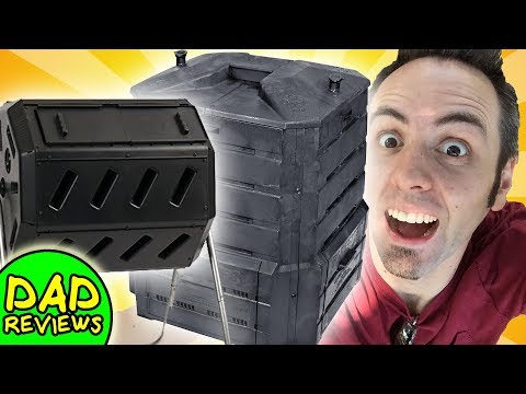 COMPOSTER REVIEWS | BEST YIMBY TUMBLER COMPOSTER vs SOIL SAVER COMPOST BIN
