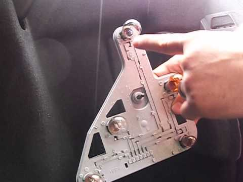 2001 2007 C Class: Replace Brake Light, Stop Light Bulb, Parking Or Back Up Light  Bulbs.