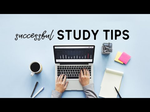 How To Have A Successful School Year // study tips