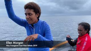 Miss Pacific Islands 2019 going for a  Dolphin Swim in Kokopo