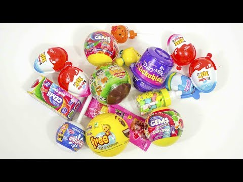 Kinder Joy And Other Toy Candies Opening | Boo Boo TV Live Stream