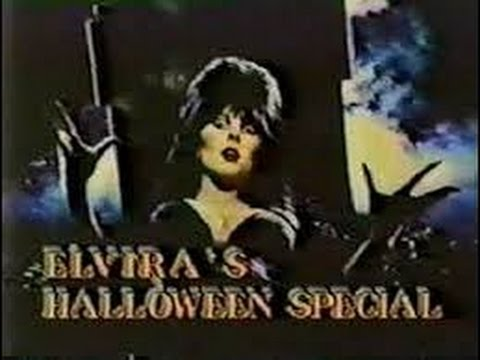 My Old VHS- Elvira's 1986 MTV Halloween Special