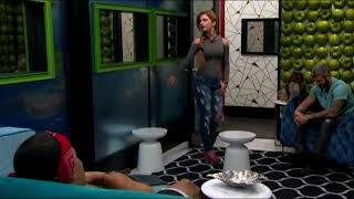 BB19 Raven Tells Josh He's a Few Fries Short of a Happy Meal