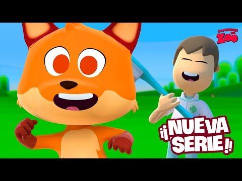 ¡El Zorro No Se Baña! - Canciones Del Zoo La Serie - Ep 1 | El Reino Infantil