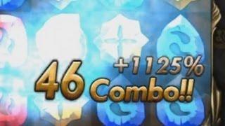 Repeat youtube video [HD]神魔之塔 63等水主潛能解放+夢幻46COMBO