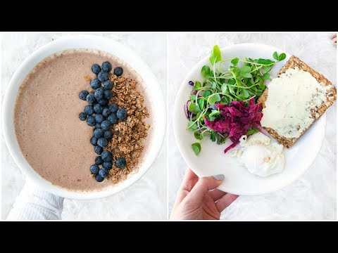 What I Eat In A Day! Healthy Recipes And Snack Ideas & Smoothie bowl!