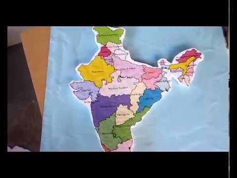 3d Map Of Africa Project.Map India Thermocoll School Project