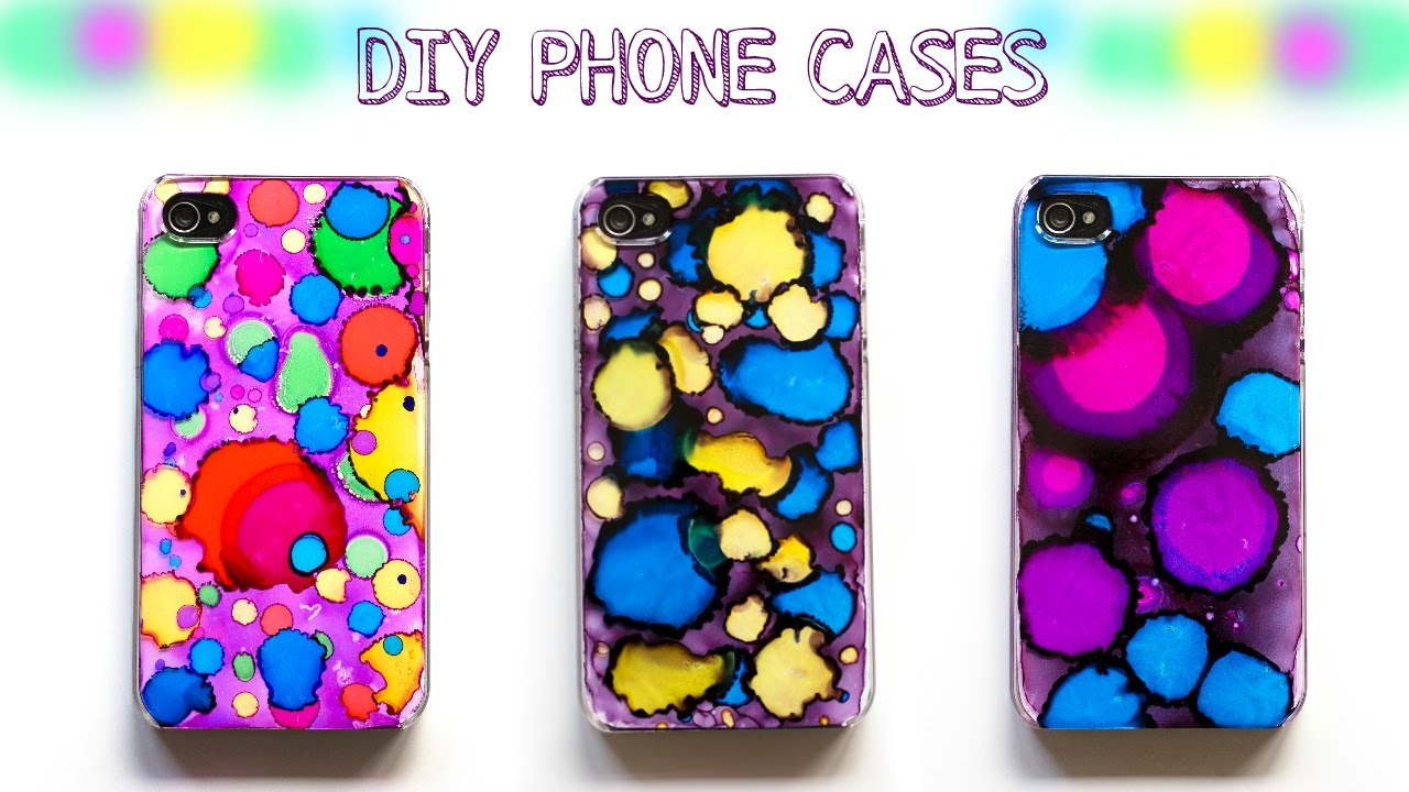 How to make diy cases easy diy phone cases youtube for How to make a homemade phone case