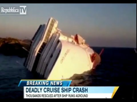 Cruise Ship Turned Over In Italy Bodies Found Missing YouTube - Cruise ship turns over