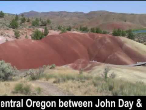 Painted Hills in Prineville, Oregon