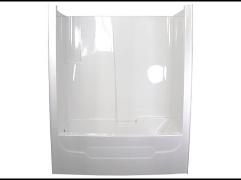 One Piece Tub Surround - YouTube