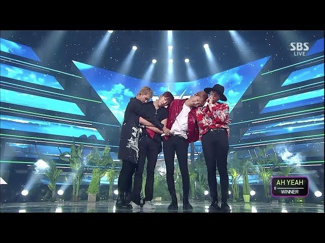 WINNER - AH YEAH(아예) 0526 SBS Inkigayo