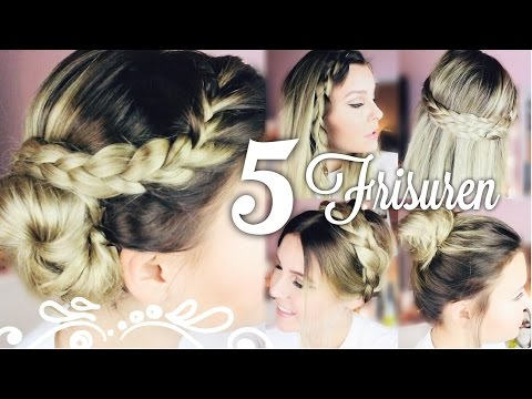 5 Schone Easy 5 Minuten Frisuren Dagi Bee Youtube