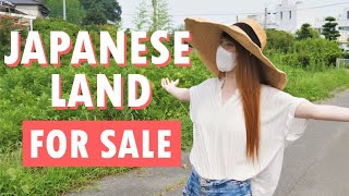 Checking out Japanese plots of land for sale!