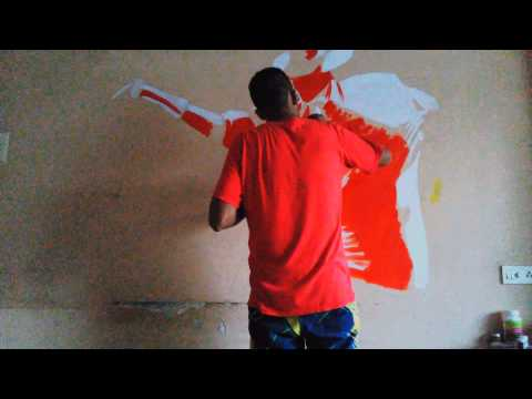 Off The Wall - A Michael Jackson Tribute - Time Lapse Painting