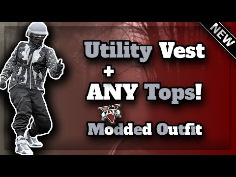 GTA5 Outfit Glitches Utility Vest with