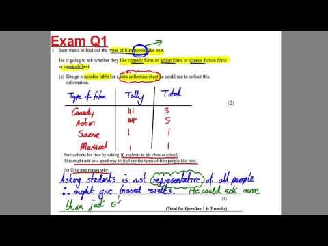 GCSE Revision Video 18 - Surveys
