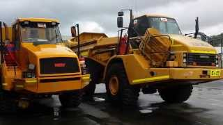 Caterpillar 740 Ejector Articulated Truck