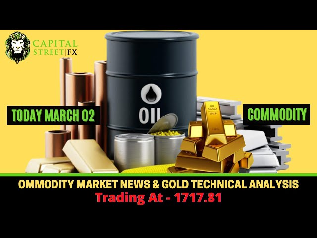 Commodity Market News & Gold Technical Analysis - March 02, 2021 | Capital Street Fx