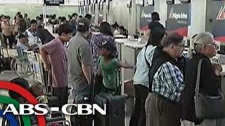 TV Patrol: Dagdag-inspeksiyon sa NAIA para sa mga pasaherong pa-Amerika
