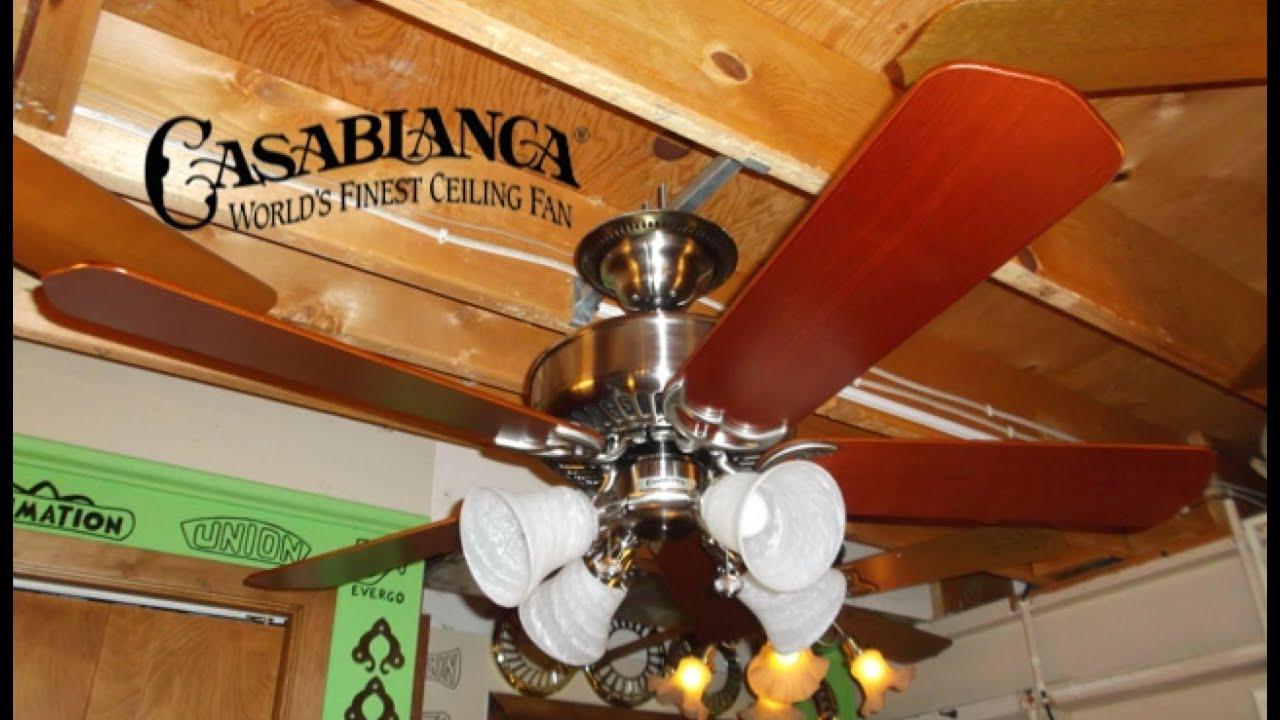Casablanca panama halo xtr ceiling fan youtube aloadofball Gallery