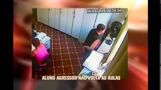 Diretora agredida por aluna com barra de ferro volta a trabalhar em escola