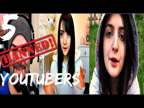 Thumbnail: 5 Banned YouTubers You Can't Watch Anymore