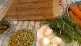 "Столичный салат ""Оливье"""