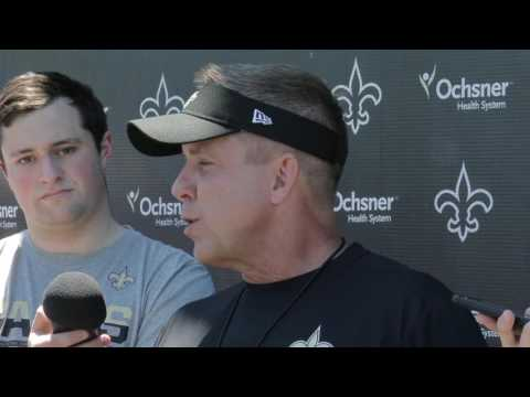 Cortez Kennedy, New Orleans Saints head coach Sean Payton reflects