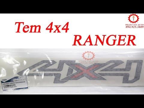 Ford Ranger | Tem xe Ford Ranger 4x4 | Phạm Văn auto