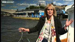 "Joanna Lumley: ""we Need A Garden Bridge Over The Thames"" - Newsnight"