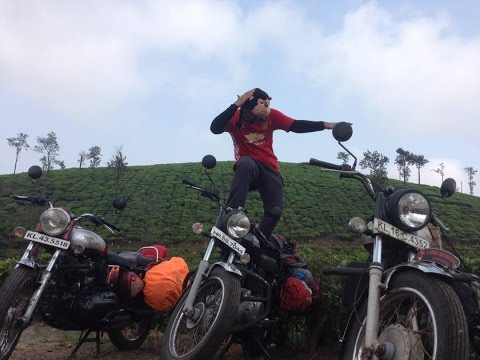 Ride in God's Own Country (Kerala)